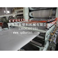 PP/PE/PVC/ABS/PMMA/PC Plastic Exturding Sheet Prodution Line