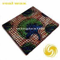 100% cotton African Real wax print fabrics
