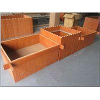 polywood flower box plastic wood planter