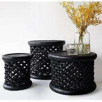 Bamileke Royal Stools/Coffee Tables