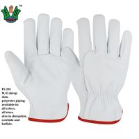 CE Mark Leather Driver Gloves -