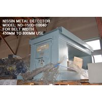 RECONDITIONED and REPAINTED NISSIN BRAND MODEL ND-150D-10040 METAL DETECTOR thumbnail image
