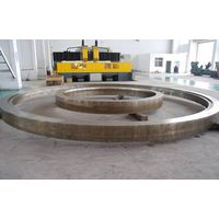 High Hardness Carbon Steel,  ASME BS EN A105 Forged Steel Rings For Wind Power
