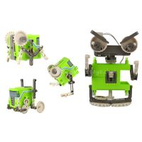 assembly 4 in 1 diy robot toy
