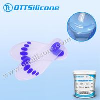 translucent silicone rubber for shoe insole