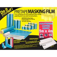 PRETAPED MASKING TAPE