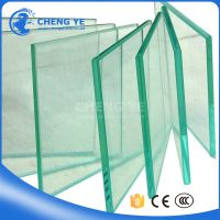 Good Quality 3-19mm Tempered Glass Toughened Glass Price With CE/CCC/ISO