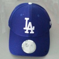 Hot sale brand 100% acrylic fabric GOLF baseball cap with custom LA embroidery