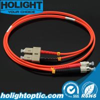 Fiber Patchcord FC to Sc Duplex mm 3.0mm Orange