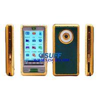 WF888 Quad band Dual SIM Cards Jade-Gold GSM Mobile Phone thumbnail image