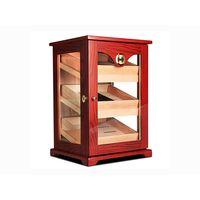 Luxury Women Gift Burlwood Wooden Jewelry Storage Chest Box with Lock and key thumbnail image