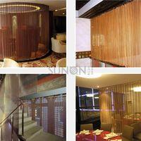 Spiral Architectural Wire Mesh Architectural & Decorative Metal Facade