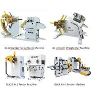 GL series 3 in 1 uncoiler straightener feeding machine