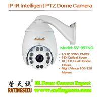 2.4 MP Full HD IR High Speed Dome Camera 18X