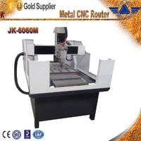 JK-6060 metal cnc router cnc milling machine for metal