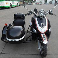 Three Wheels Electric Motorcycle Sidecar Kaixindudu thumbnail image