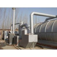 8.5 kw waste tire oil refining plant with 4-5tons output