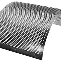 staggered hole patterns aluminum perforated sheet thumbnail image