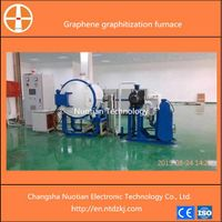 Stable quality and high performance induction type graphene making vacuum graphitization furnace