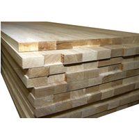 oak glued panels, beams, stair, veneer