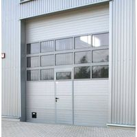 CE-approved industrial sectional overhead door