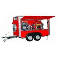 BAVARIA Water/Foam Fire Fighting Trailer