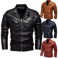 Motor Bike Leather Jacket thumbnail image