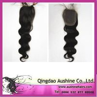 virgin brazilian hair lace top closure