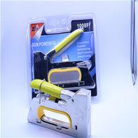 Zhibo manual small handle thickened nail gun 1008F U type nail gun woodworking tool manual household