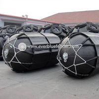 ISO17357 pneumatic rubber fender 80KPa marine fender