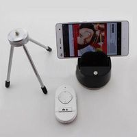 mini tripod 360 degree rotate auto face detection selfie robot