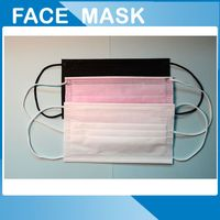Colorful disposable face masks 3 layer