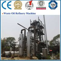 2 year warranty continuous automatic waste oil distillation machine