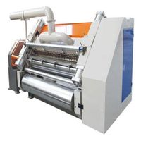 Fingerless Type Single Facer Corrugated Paperboard Machine