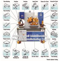 Hydraulic Ironworker Multifunction Steel Fabricating Punching and Shearing and Notching Machine thumbnail image