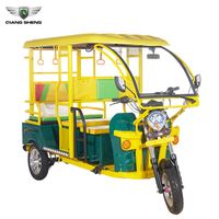 Newest Electric Bajaj Three Wheeler with Bajaj Auto Taxi Tricycle thumbnail image