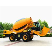 3.5m3 Self Loading Concrete Mixer Truck thumbnail image