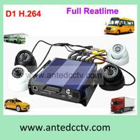 1/2/4CH H.264 HDD Bus DVR, Shockproof 3G Car DVR, Support GPS