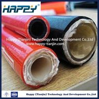 Hot Hydraulic Rubber Resin Hose with Fibre Braided SAE 100 R8
