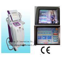 3 handles E-light(IPL+RF)+RF+Laser beauty machine