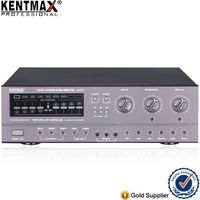 Kentmax Factory Audio 200 Watt Karaoke Remote Control Power Amplifier