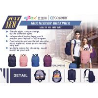 New hot sale simple multicolor fashional backpack,pure backpack popular for young boys and girls sel