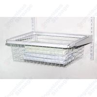 Ingenious Gliding Wire Basket Drawer