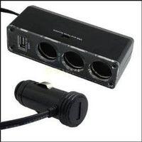 car cigarette socket,USB charger supply and triple socket thumbnail image