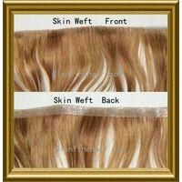 skin weft, pu strip,pu weft,hair extension