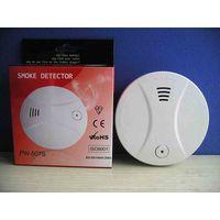 9V battery powered optical smoke detector PW-507S CE ROHS EN14604 thumbnail image