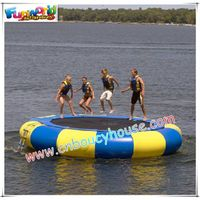 Inflatable trampolin/water park sport games