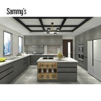 Durable complete customized modern design kitchen cabinets