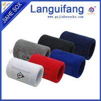 Customized cotton sport wrist sweatbands thumbnail image