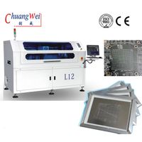 Printers-High-tech Solder Paste Stencil Solutions With Stainless Squeegee,CW-L12